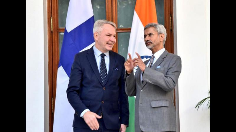 According to an official statement issued by MEA, Haavisto will also meet Finance Minister Nirmala Sitharaman to discuss issues of mutual interests concerning both countries. (Photo: ANI)