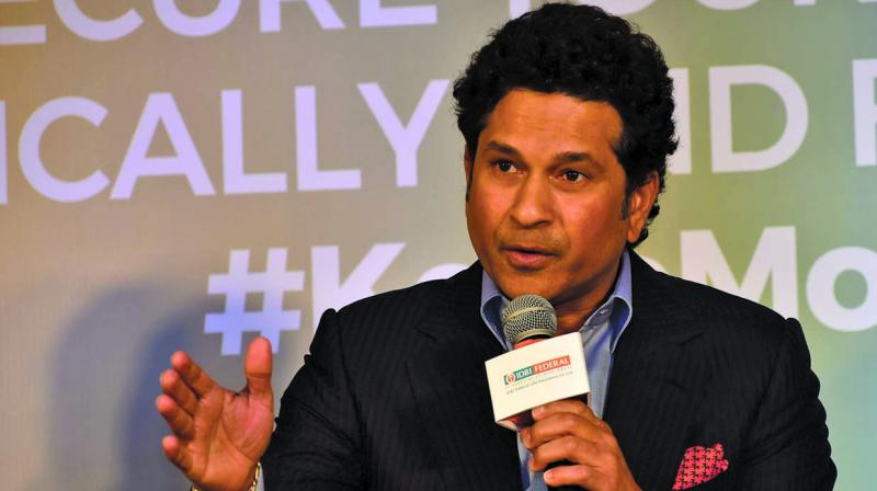 As of now, Sachin Tendulkar holds the most number of 50 plus scores in a single World cup. Sachin achieved this feat during the 2003 World Cup. During the 2003 edition, Tendulkar had scored 673 runs from 11 matches in which he notched up six 50s and one ton, i.e seven 50 plus scores.  (Photo: Debasish Dey)