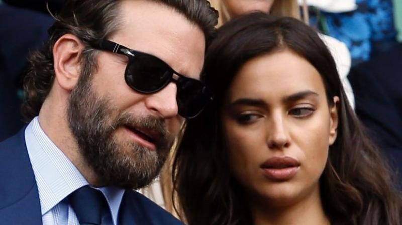 Bradley Cooper and Irina Shayk. (Photo: AP)
