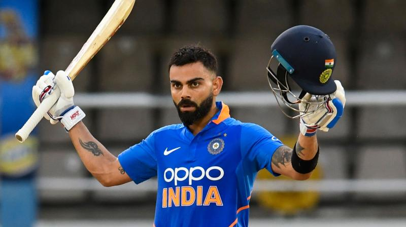 With this victory, India won the three-match ODI series by 2-0 after the first ODI got abandoned due to rain. (Photo: AFP)