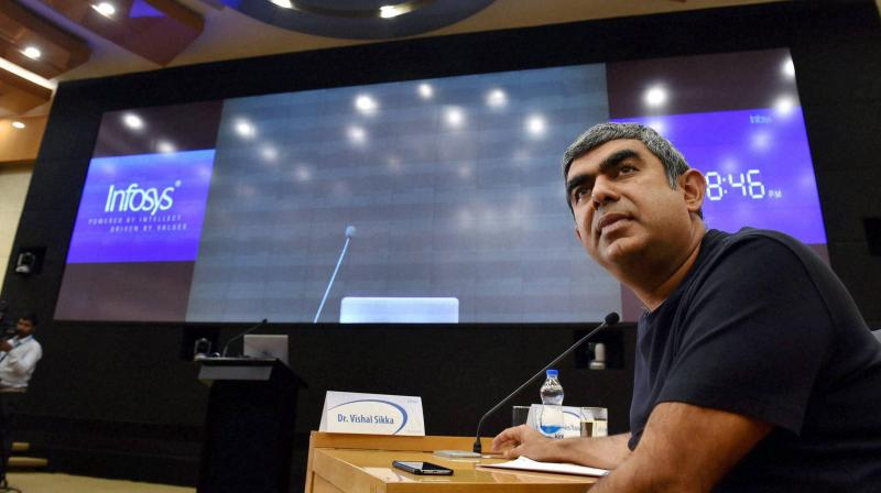 Vishal Sikka on Friday informed Infosys employees in an email about his resignation as CEO and managing director. (Photo: PTI)