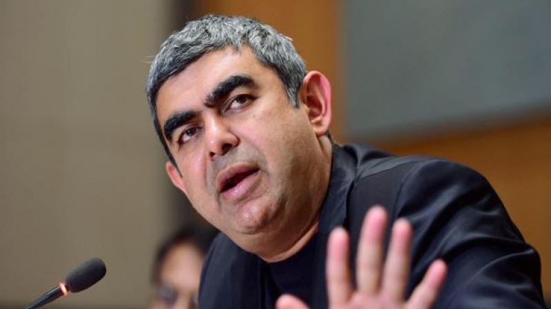 Former Infosys chief executive Vishal Sikka. (Photo: PTI)