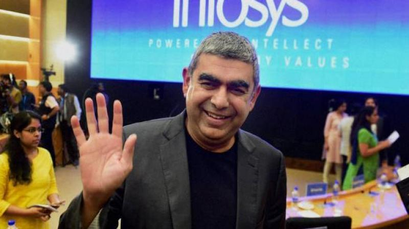 Vishal Sikka resigned from Infosys as CEO and MD, last Friday. Photo: PTI