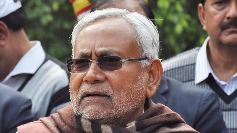 Bihar chief minister Nitish Kumar. (PTI)