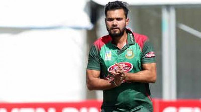 When asked about pressure that supporters create on players, Mortaza said it depends from player to player as to how they handle the pressure. (Photo: AFP)