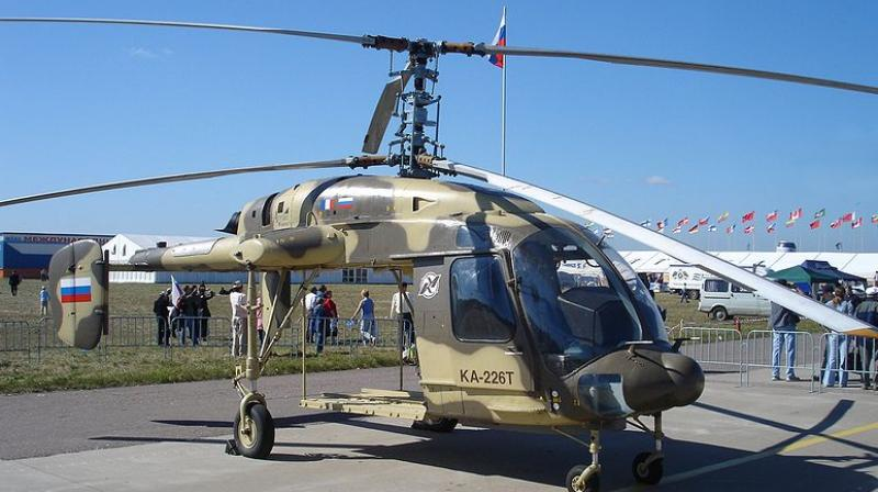 Kamov 226T helicopters. (Photo: Wikimedia Commons)