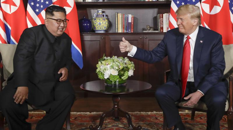 Trump thanked Kim for the gesture, saying on Twitter: 'This is a big and very positive statement from North Korea.' (Photo: File)