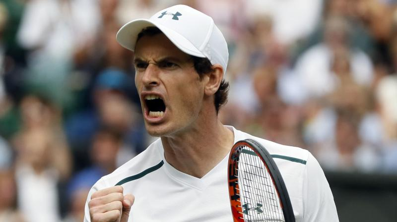 Murray suffered a right hip injury in 2017 and has not played on the ATP tour since losing a tough five-setter to American Sam Querrey in the quarter-finals at Wimbledon. (Photo: AP)