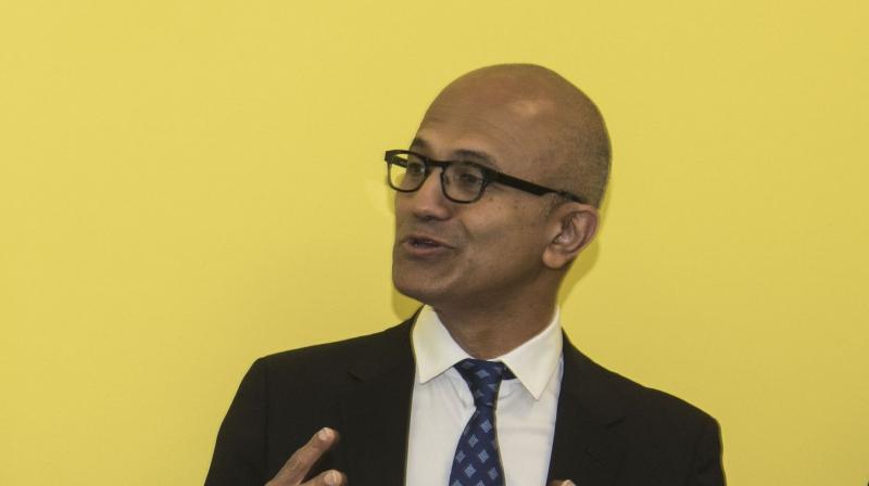 Microsoft CEO Satya Nadella (Twitter@satyanadella)