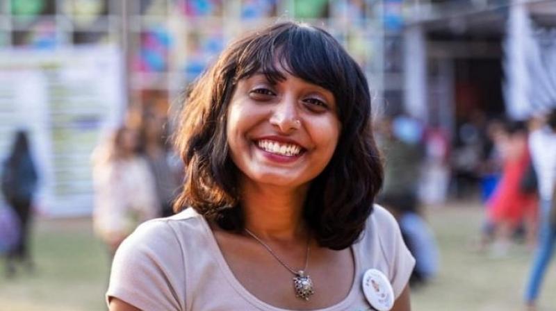 Disha Ravi, climate activist (Twitter@Tejinder42)