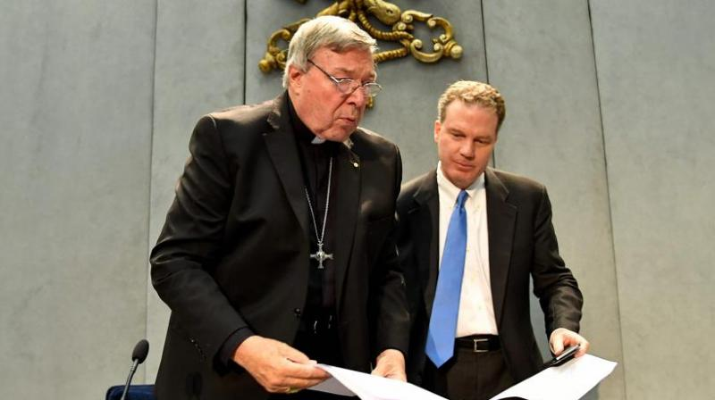 Pell remained silent throughout with magistrate Duncan Reynolds ruling the brief of evidence needs to be handed to his legal team by September 8, with the next court date set for October 6.  (Photo: AFP)