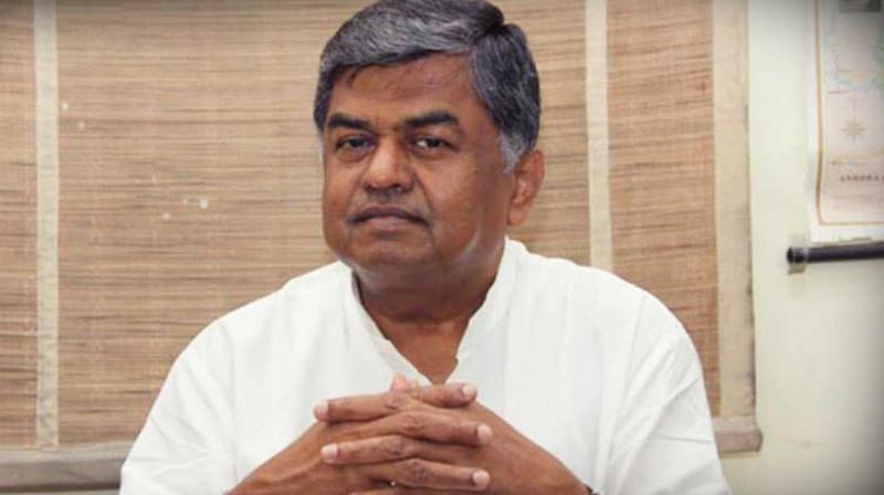 Rajya Sabha member B.K. Hariprasad