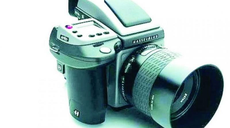The Hasselblad H4D 200 MS.