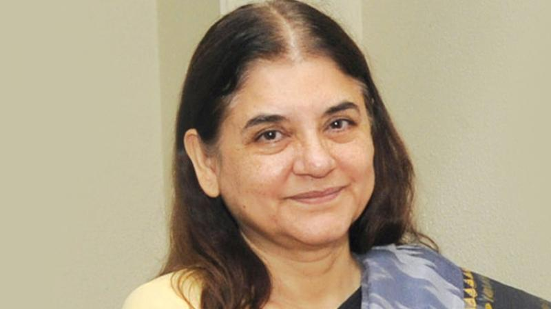 Union Minister for Women and Child Development Maneka Gandhi