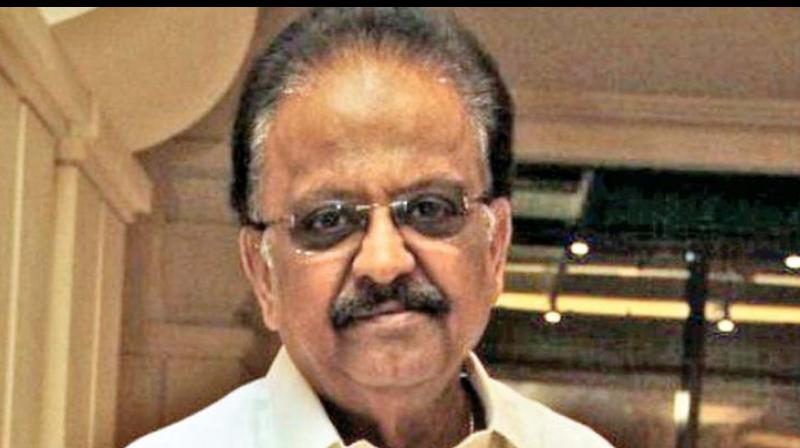 File pic of SP Balasubrahmanyam