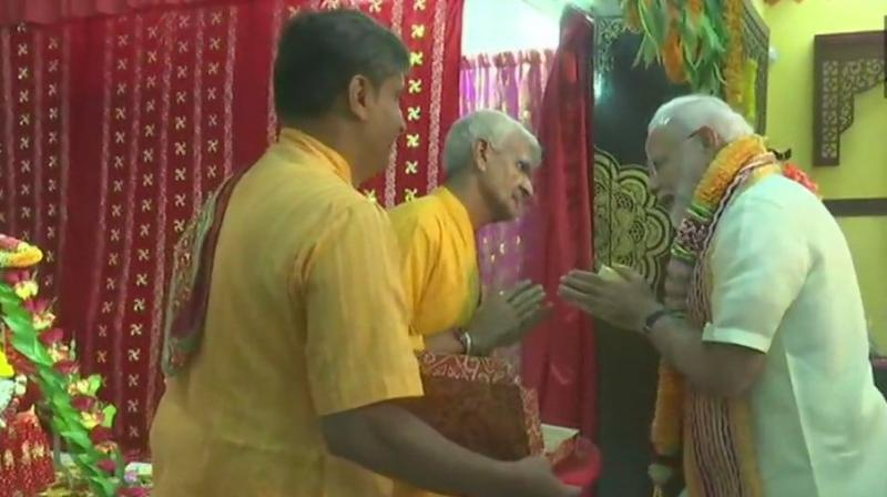 The facelift for the Shreenathji (Shree Krishna) temple in Manama will kick off later this year.  (Photo: ANI)