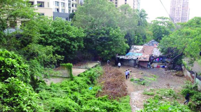 Builders had started redeveloping the chawl in 1992.