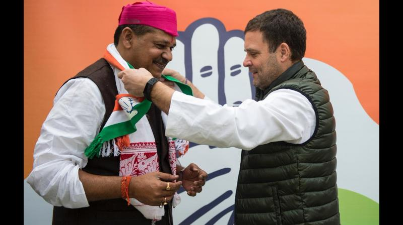 Former test cricketer Kirti Azad, who joined the Congress recently, said he would request the party leadership to take