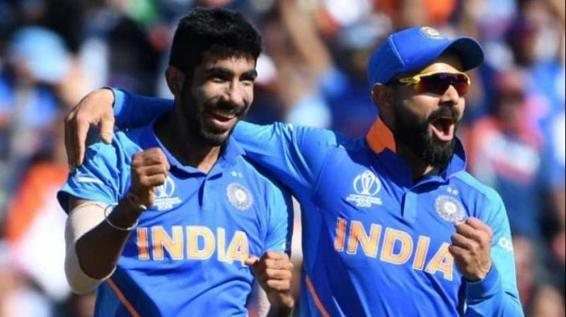India skipper Virat Kohli and pace sensation Jasprit Bumrah on Thursday maintained their numero uno status in the latest ICC men's ODI player rankings. (Photo:AFP)