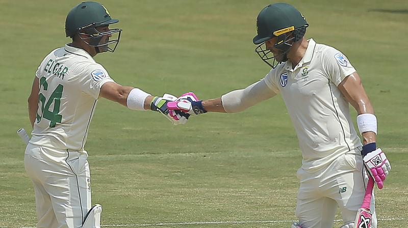 South Africa losing three straight toss in India has frustrated Faf du Plessis, so much so that the embattled Test captain has suggested doing away with the rule in the five-day format. (Photo:AFP)