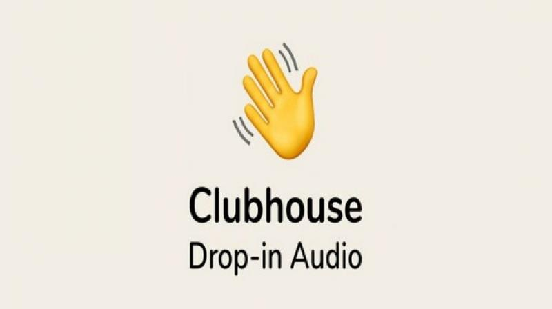 The screenshot suggests that 'Waves' will let you wave at friends with a button identical to the hand in Clubhouse's logo. (ANI)