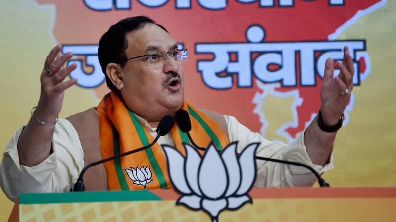 JP Nadda (PTI photo)
