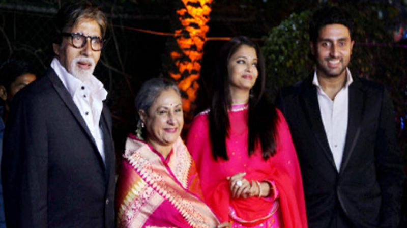The Bachchan family (Twitter)