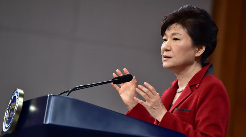 Park has repeatedly apologized over the public anger caused by the latest scandal, but has denied any legal wrongdoings. (Photo: AP)