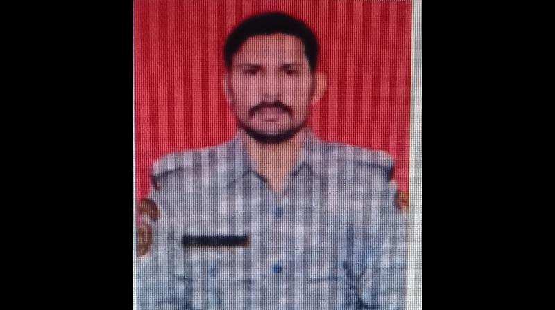 CRPF jawan, Rakesh Singh Manhas, went missing in the April 3 Maoist ambush on security forces on the Sukma-Bijapur border in Chhattisgarh. —  By arrangement