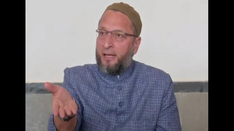 """""""In an economic crisis with mass unemployment, who should get relief from burdensome taxes & service fees?"""" Owaisi asked. """"Should it be big business or YOU? Who's more in need of """"relief"""": industrialists or working people?"""" (Photo: File 