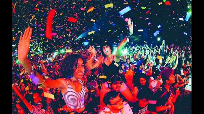 The audience at NH7 Weekender — OML Entertainment Pvt. Ltd.
