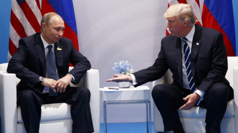 Trump told Fox News this week that it was possible he would meet Putin during his Asia trip. (Photo: AP)
