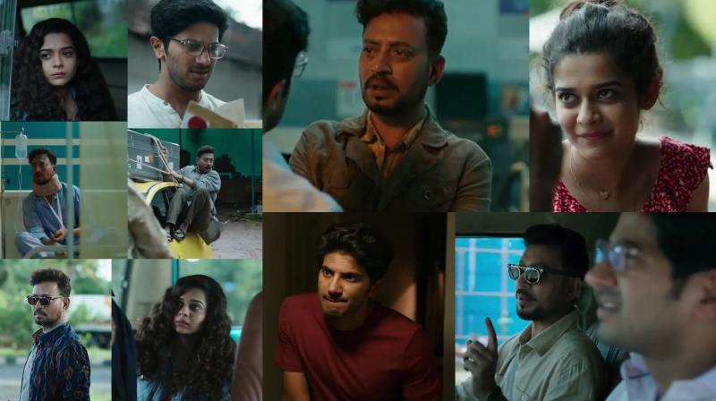 Screengrabs from 'Karwaan' trailer. (Courtesy: YouTube/ RSVP Movies)