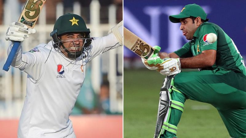 Pakistan opener Abid Ali became the first batsman to score hundreds on both Test and one-day international debuts when he struck a ton against Sri Lanka in Rawalpindi on Sunday. (Photo:AFP)
