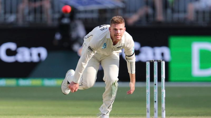 New Zealand bowler Lockie Ferguson has been ruled of the remainder of Test series against Australia after he sustained a right calf-muscle tendon strain. (Photo:AFP)