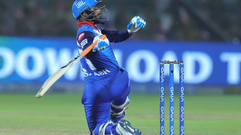 Pant scored 78 runs off 36 balls, finishing the match and guiding Delhi Capitals to the top of the points table. (Photo: BCCI)