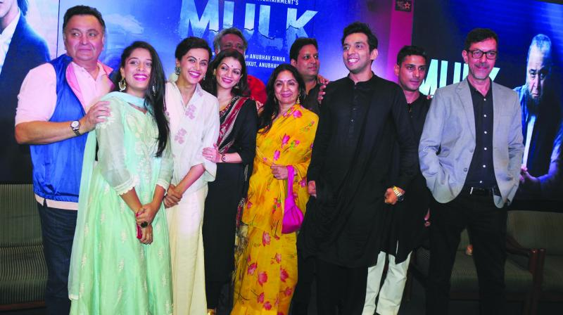 Cast of the film Mulk