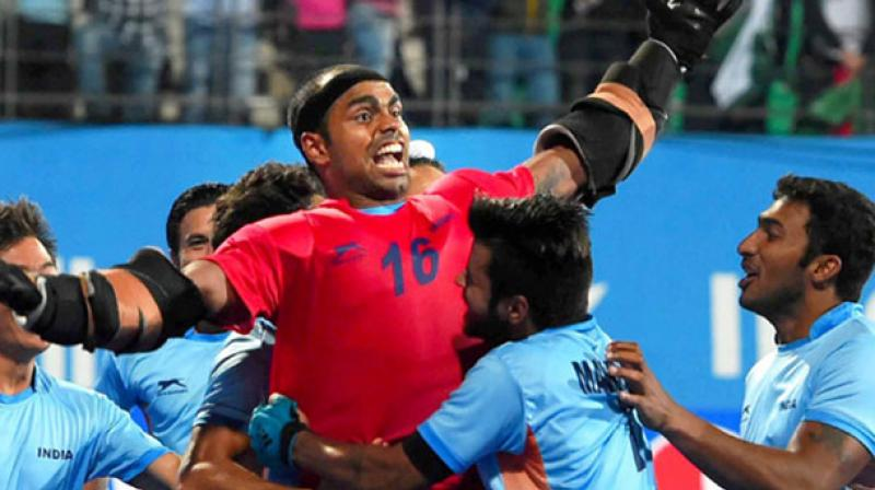 9f02dd78aa8 Indian men s hockey team skipper PR Sreejesh played a pivotal in country s  recent Asian Champions Trophy