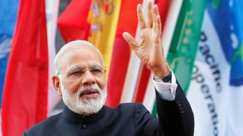 Prime Minister Narendra Modi. (Photo: Twitter | ANI)