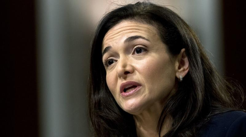 Sandberg met with Senate Commerce Committee Chairman Roger Wicker, a Republican, and Democratic Senator Mark Warner and was expected to meet with Republican Senator Jerry Moran later on Tuesday.