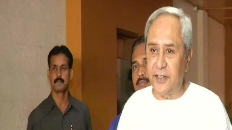 Chief Minister Patnaik also stated that people of Odisha stand by the flood-affected people of Kerala at this hour of severe distress. (Photo: ANI | Twitter)