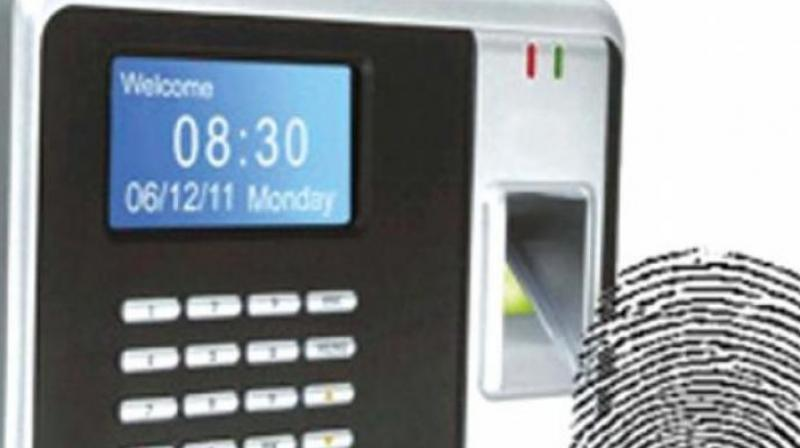 The biometric attendance system