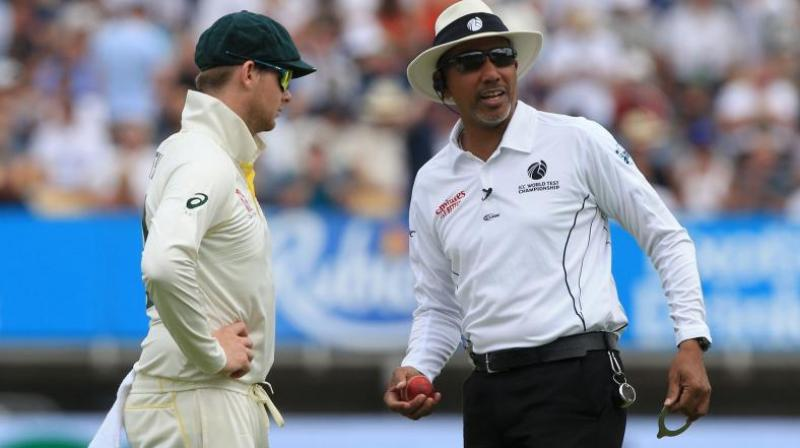 A series of umpiring howlers from Joel Wilson and Chris Gaffaney spoiled the entire tempo of the matches. (Photo: AFP)