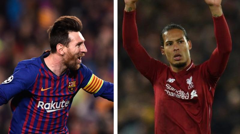 After missing out on the Best FIFA Men's Player of the Year award, Liverpool's defender Virgil van Dijk said that one cannot compare him with Argentine striker Lionel Messi. (Photo:AFP)