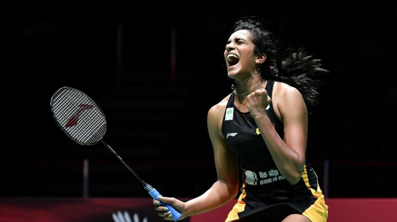 PV Sindhu lost 21-7, 22-24, 15-21, to USA Beiwen Zhang in the first round of Korea Open. (Photo: AFP)