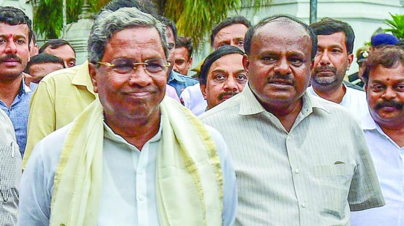 Former Karnataka chief minister Siddaramaiah on Saturday termed Sadhvi Pragya Singh Thakur a 'terrorist' for calling Mahatma Gandhi's killer Nathuram Godse a 'true patriot'. (Photo: File)