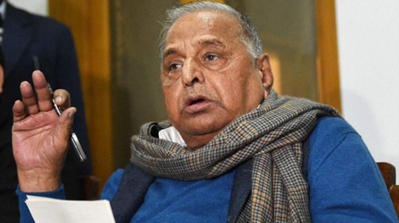 Samajwadi Party supremo Mulayam Singh Yadav (Photo: PTI)