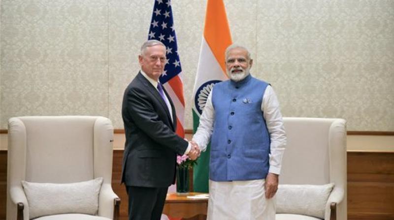 US Defense Secretary Jim Mattis met Prime Minister Narendra Modi (Photo: PTI/File)