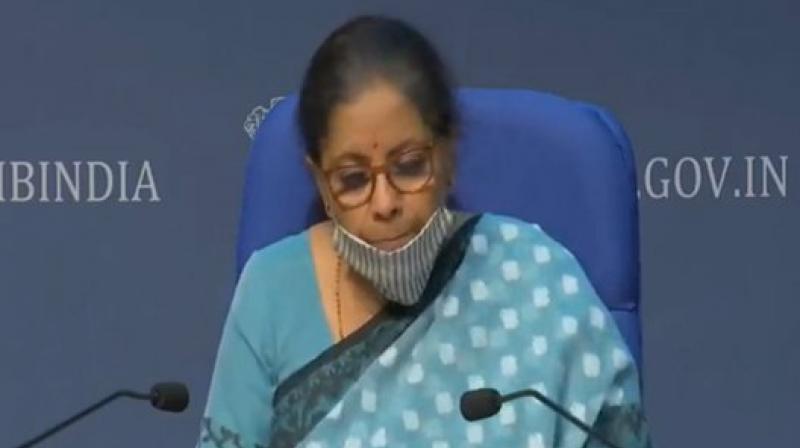 File image of Finance Minister Nirmala Sitharaman.