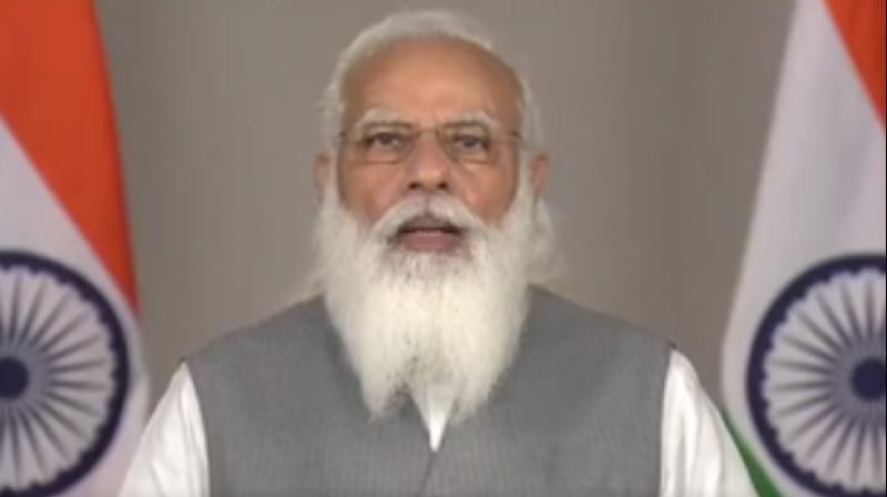 Prime Minister Narendra Modi. (Photo: Twitter/ @PMOIndia)